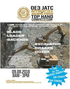 Top Hand Competition flyer. Click here.